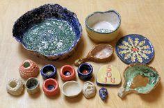 two lives Einklang / Werkstatt-Atelier: Einige Keramiken aus dem Steinzeugbrand...
