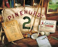 Lots of history around Pinehurst.