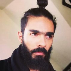 / beard / hair