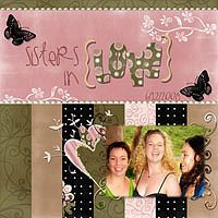 "Layout created by Christelle using ""Up Close and Personal"" by Andrea Gold @ goDigitalScrapbooking.com"