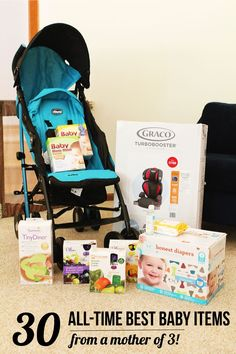 The Very Best Baby Products - Everything you need (and don't need) from a mother of 3 kids - GREAT list!