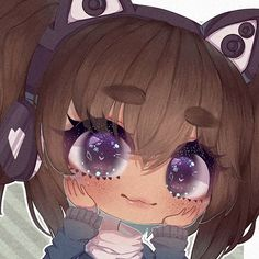 Wow dis is gūd Anime Drawing Styles, Anime Girl Drawings, Anime Art Girl, Cute Animal Drawings Kawaii, Kawaii Drawings, Cute Drawings, Kawaii Anime, Cute Anime Chibi, Create Your Own Anime