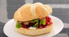 Hamburger original à la betteraveVoir la recette du Hamburger original à la…