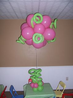 Topiary Squiggle Party Ball
