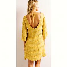"COMING SOON: ""Jukebox Junkie"" mustard fringe dress. #carmelapple #countyfair #babyshescountry"