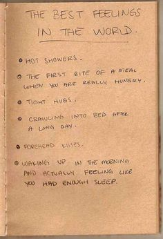 The best feelings in the world, totally true…