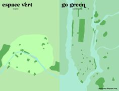 Espaces verts - Paris VS New-York