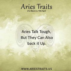 Aries Traits - Aries Personality - Aries Characteristics - Ideas for Aries Men & Women Aries Zodiac Facts, Aries Quotes, Zodiac Horoscope, Zodiac Signs, Qoutes, Life Quotes, Aries Baby, Aries And Leo, Aries Love
