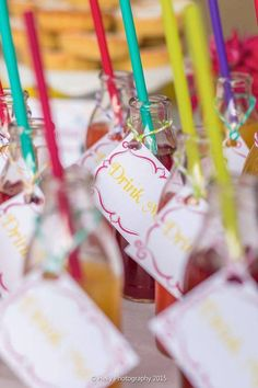 Drinks from an Alice in Wonderland Birthday Party via Kara's Party Ideas KarasPartyIdeas.com (19)