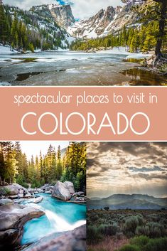 Amazing places around Colorado that you must visit! This is a roundup of our favourite locations around Colorado that are close enough to Denver for a weekend getaway. These adventures are all kid friendly since we always travel with our two little kiddos Road Trip To Colorado, Visit Colorado, Colorado Hiking, Colorado Vacations, Denver Colorado, Best Places To Travel, Cool Places To Visit, Colorado Springs, To Infinity And Beyond