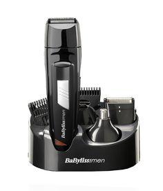 Babyliss Men 8 IN 1 Grooming Kit Cordless Body Hair Clipper Beard Trimmer Long Beard Trimmer, Nose Hair Trimmer, Babyliss For Men, Body Groomer, Clipper Cut, Long Beards, Hair Vitamins