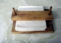 Napkin Holder, for camping so the napkins don't blow away.