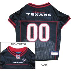 Houston Texans NFL Licensed Pet Dog Football Jersey 5c74fcc44