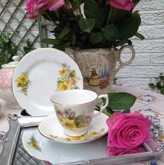 Gorgeous Royal Kent Tea Cup Trio Teacup Saucer by VerasTreasures, £15.00