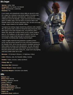 SWTOR. Trooper Companion: Aric Jorgan