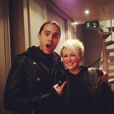 With Vicki Blight at @absoluteradio  http://instagram.com/p/YsuRaQTBem/#