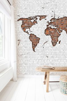 Worldmap Brick