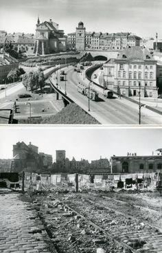 Zdjęcia zapomnianego fotografa. Tak miasto podniosło się z ruin - Śródmieście Visit Poland, Warsaw, Planet Earth, Historical Photos, Old Photos, Wwii, Places To Visit, World, City