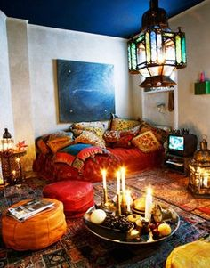 Богемный декор | Дизайн интерьера богемной квартиры ...