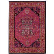 South Shore Decorating: Sphinx K1332S Kaleidoscope Pink Traditional Border Rug SPX-1332S