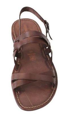 Sandalias artesanales de cuero y piel curtida por #sandalishop :-)