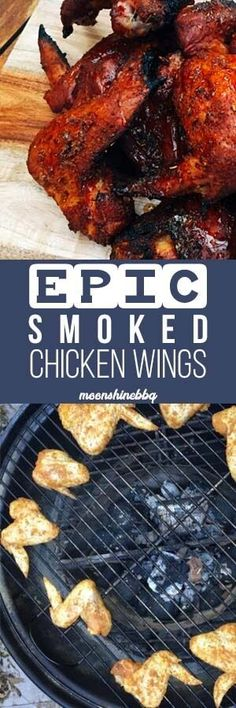 20 Smoked Chicken Wings Recipes To Try At Home - Moonshine BBQ Wings #smoked #wings #chickenrecipes #brobbq