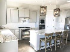 Romantic Rustic Farmhouse Kitchen Cabinets Ideas 19 – Home Design Affordable Kitchen Cabinets, Kitchen Cabinets Decor, Kitchen Cabinet Design, Kitchen On A Budget, Home Decor Kitchen, Kitchen Ideas, Gray Cabinets, Kitchen Reno, Kitchen Remodeling