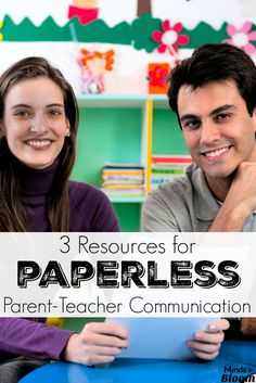 Paperless parent-tea