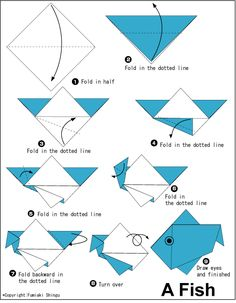 Easy Origami Eagle Instructions For Kids #1