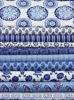 Dear Stella has done it again! We love this classic blue and white combination in the Ravena Collection! The Dear Stella Blog has shared their inspiration for this collection and is a wonderful