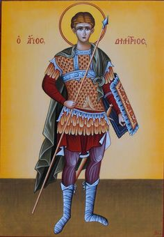 Greeker Than The Greeks: Saint Demetrius / Dimitrios, and the Church of The. Art Icon, Greek Icons
