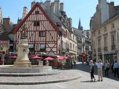 Dijon, France (Because I have to know where my favorite French professor came from!)