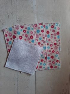 Reusable Face Wipes – Handmade With Love & Sparkle