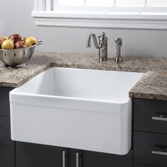 "26"" Baldwin Single Bowl Fireclay Farmhouse Kitchen Sink*****Made in ????"