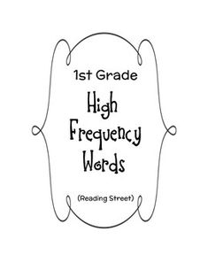 Reading Street Vocabulary First Grade 1000 Ideas About Reading