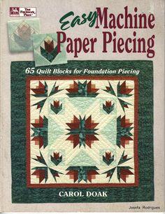 Machine Paper Piecing - Josefa Rodrigues - Picasa Web Album