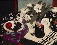 Still Life in Purple and Black Judy Drew