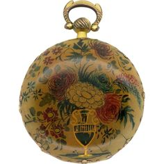 Antique Pocket Watch - Emanuel Brothers, London, c1830 from cogsandpieces on Ruby Lane