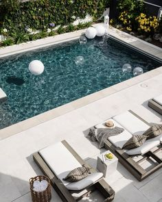 Backyard Landscaping Design 💘 97 beliebtesten Hinterhof-Designs mit Pool-Ideen Towards the end Backyard Pool Designs, Swimming Pools Backyard, Swimming Pool Designs, Backyard Landscaping, Backyard Ideas, Backyard With Pool, Patio Ideas, Landscaping Ideas, Small Gardens