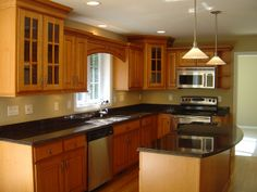 l shaped kitchen designs | shaped kitchen designs for small kitchens | Small Luxury Kitchens ...