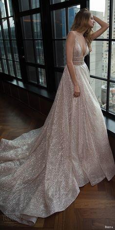 BERTA BRIDAL fall 2016 sleeveless deep vneck embellished aline wedding dress (16 101) fv #bridal #wedding #weddingdress #weddinggown #bridalgown #dreamgown #dreamdress #engaged #inspiration #bridalinspiration #weddinginspiration #weddingdresses