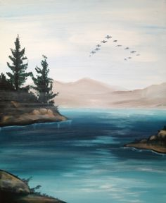 Father's Day and the the Rocky Mountains. Give your dad a gift he'll really appreciate. Quality time and a painting to show for it. Join us Sunday, June 15th from 2-5pm.