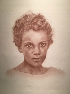 Slave child, New Orleans, La. - one of the Beloved: Legacy of Slavery by SC artist, Mary Burkett.