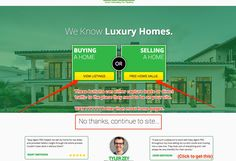 real estate websites and making them better