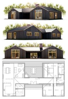 1900 sf Could add a second garage peak, Exterior could be changed