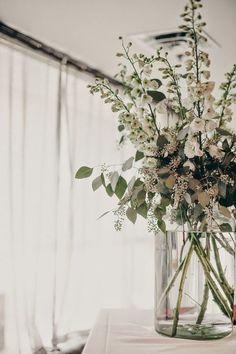 simple flower and greenery #greenery