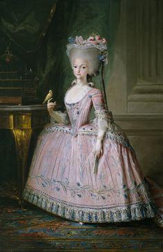 Carlota Joaquina, infanta de España, reina de Portugal byMariano SalvadorMaella,1785