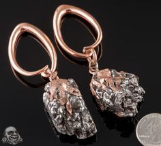 Solid copper and Del Campo meteorite weights