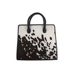 Carla Tony Bianco Pony Hair Leather Bag
