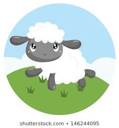 Portfólio de fotos e imagens stock de Inkley Studio   Shutterstock Cartoon Lamb, Sheep Cartoon, Sheep Vector, Eid Crafts, Baby Sheep, Baby Lamb, Unicorn Birthday, Portfolio, Royalty Free Images
